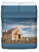 Montana Church Duvet Cover