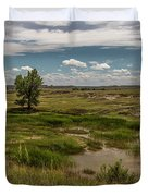 Montana Country And Tree Duvet Cover