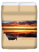Montana Glory Duvet Cover