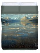 Montana Lonely Boat Duvet Cover