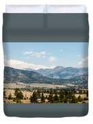 Montana Mountains Duvet Cover