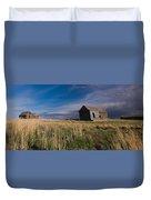 Montana Prairie Homestead Duvet Cover