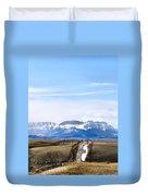 Montana Scenery One Duvet Cover