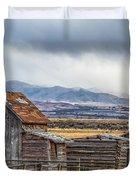 Montana Scenery Duvet Cover