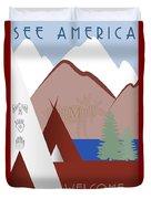 Montana Duvet Cover