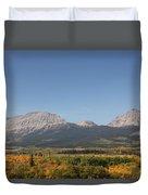 Montana View Duvet Cover