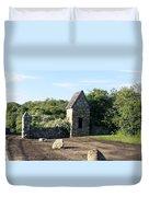 Montauk Guard House 1 Duvet Cover
