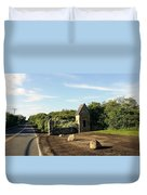 Montauk Guard House Duvet Cover