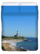 Montauk Lighthouse Duvet Cover