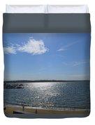 Montauk Seascape Duvet Cover