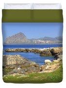 Monte Cofano - Sicily Duvet Cover