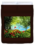 Monte Rio Poppies Duvet Cover