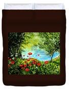Monte Rio Poppies Duvet Cover