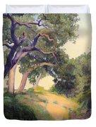 Montecito Dry River Oaks Duvet Cover