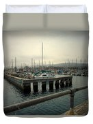 Monterey Marina Duvet Cover