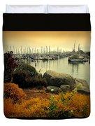 Monterey Marina Vista Duvet Cover