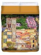 Monterosso Al Mare Cinque Terre Italy Duvet Cover