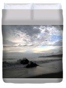 Montezuma Beach  Duvet Cover