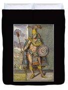 Montezuma II (1480?-1520) Duvet Cover