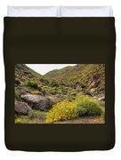 Montezuma Rd Daisey Garden Duvet Cover
