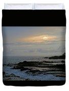 Montezuma Sunset Duvet Cover