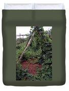 Monticello Vegetable Garden  Tee Pee Duvet Cover
