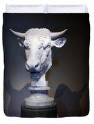 Monti's Head Of A Bull Duvet Cover