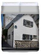 Montmarte Paris Rue Durantin Duvet Cover
