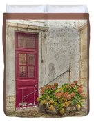 Montmartre Doorway Duvet Cover