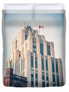 Montreal - Aldred Building Duvet Cover