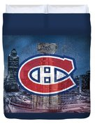 Montreal Canadiens City Duvet Cover