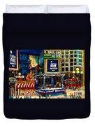 Montreal Jazz Festival Arcade Duvet Cover