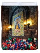 Montserrat Shrine Duvet Cover
