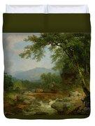 Monument Mountain - Berkshires Duvet Cover
