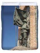 Monument Of The Republic Duvet Cover