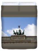 Monument On Brandenburger Tor  Duvet Cover