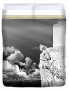 Monument Particular In Rome Duvet Cover
