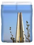 Monument To The People's Heroes - Shanghai China Duvet Cover