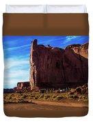 Monument Valley Corral Duvet Cover