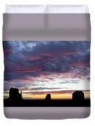 Monument Valley Morning #1 Duvet Cover