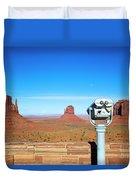 Monument Valley, Usa Duvet Cover