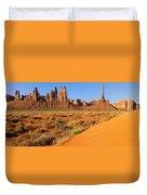 Monument Valley,arizona Duvet Cover