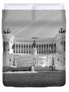 Monumental Architecture In Rome Duvet Cover