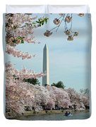 Monumental Cherry Blossoms Duvet Cover