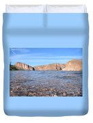 Monuments On Water Duvet Cover