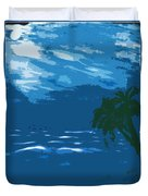 Moods Of The Sea Surreal Duvet Cover