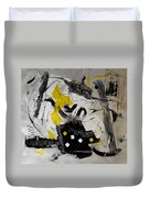 Moods Yellow Let It All Hang Out Duvet Cover