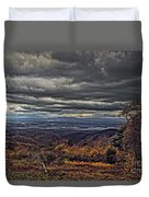 Moody Mountain View Duvet Cover