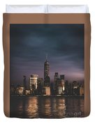 Moody Nyc Duvet Cover