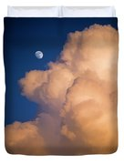 Moon And Cloud Duvet Cover